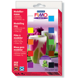 Assortiment de 10 demi pains de pâte polymère Fimo Soft