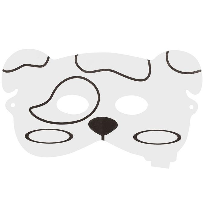 Masque de chien gonflable