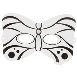 Masque papillon gonflable