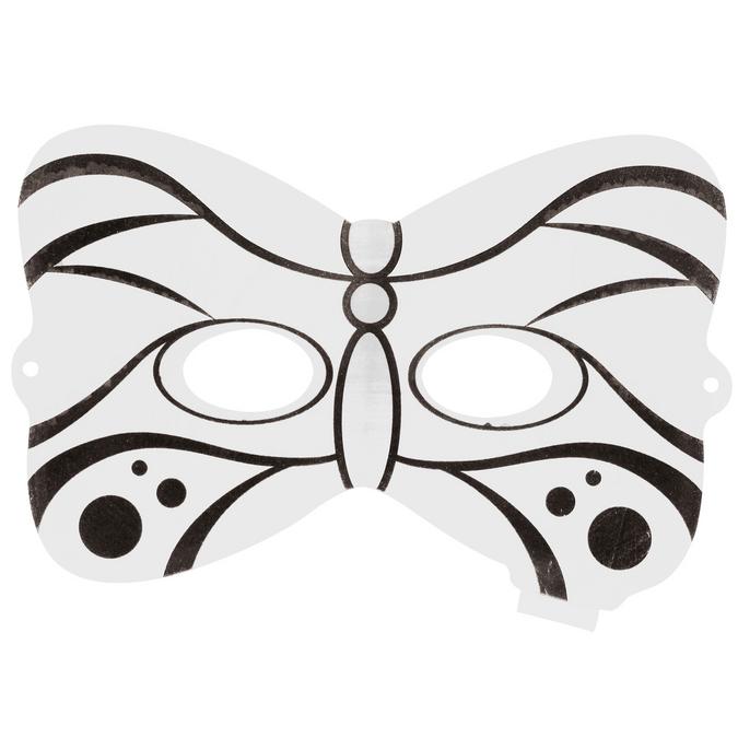 Masque papillon gonflable