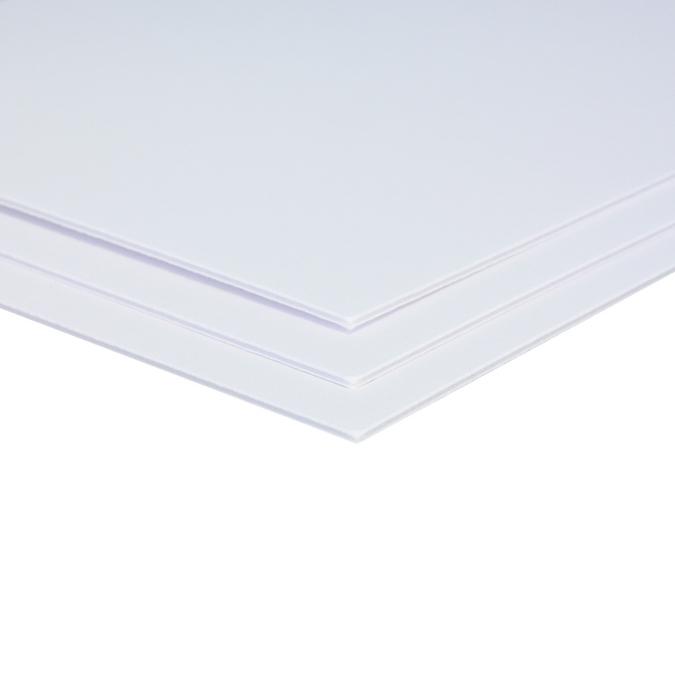 Carton mousse 1,5 mm 2 faces de papier lavis 50 x 65 cm