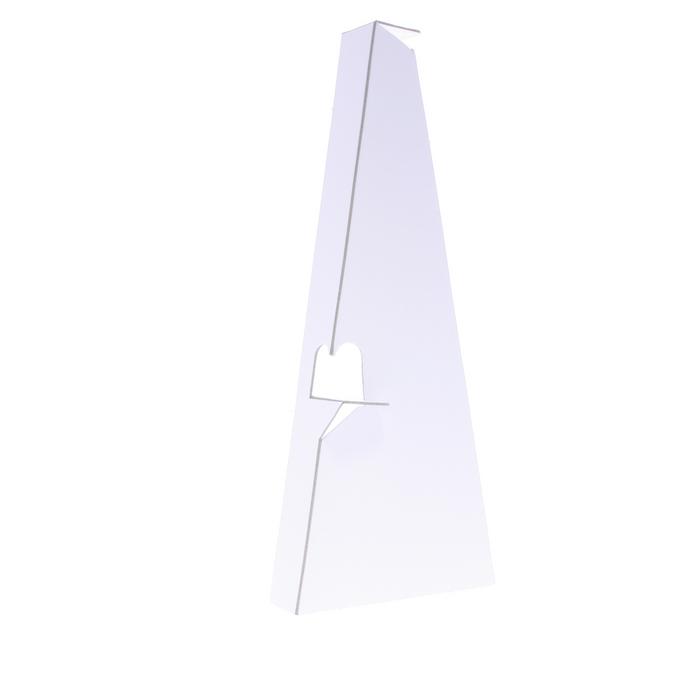 Chevalet en carton 59 x 10 cm