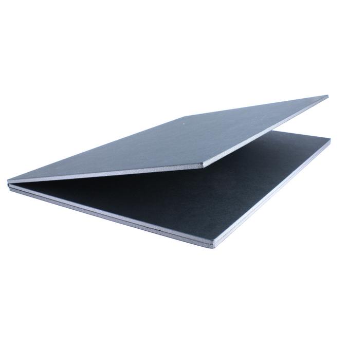 Triptyque de présentation noir 5 mm panneaux A3