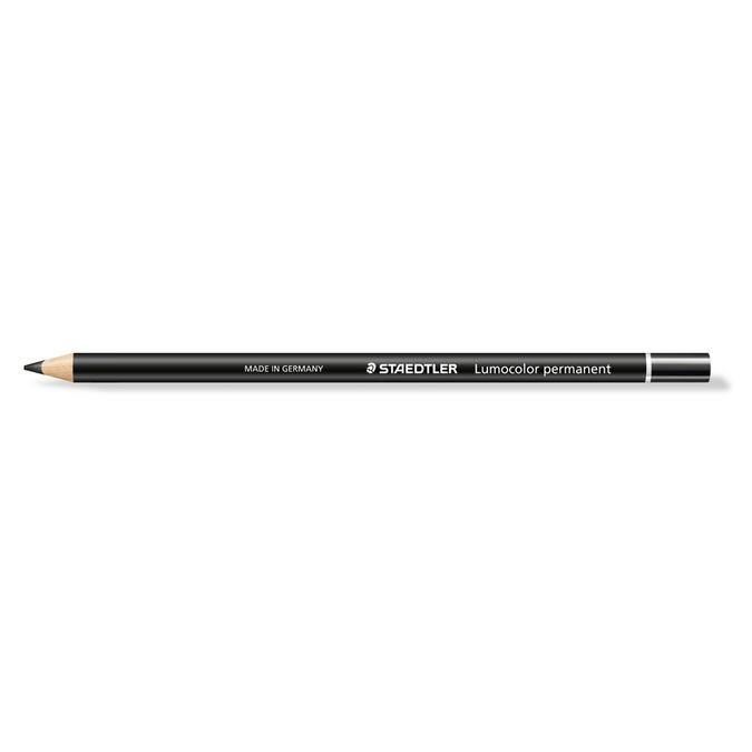 Crayon Lumocolor Glasochrom noir