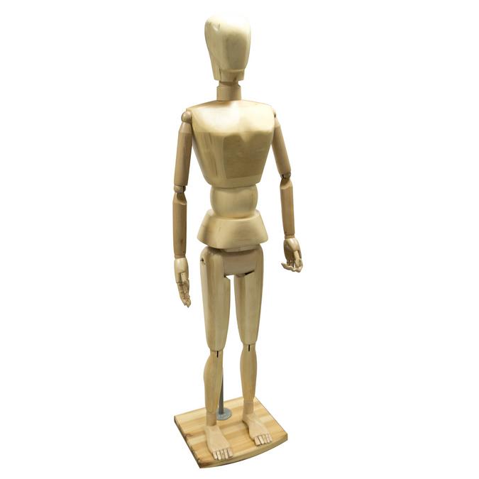 Mannequin en bois homme 178cm