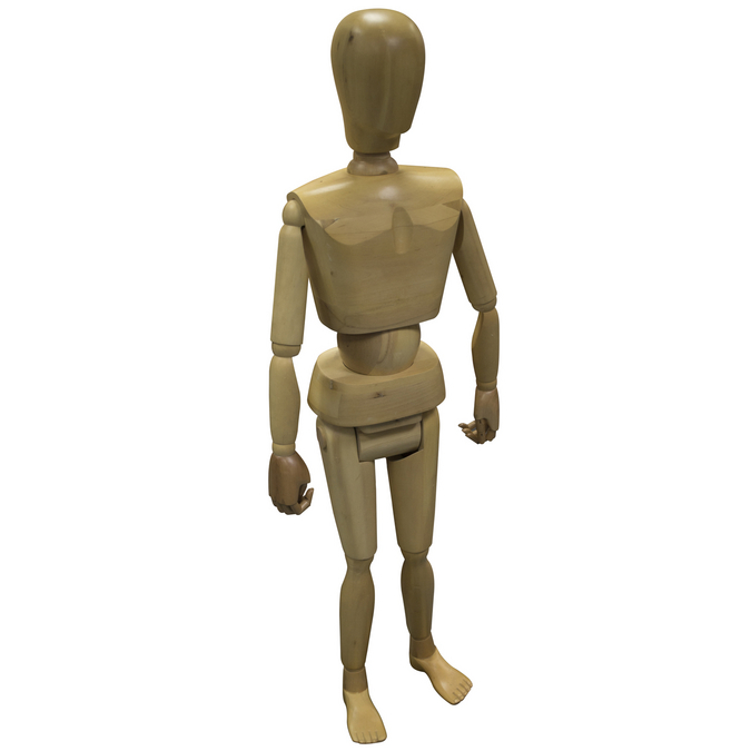 Mannequin en bois enfant 120cm