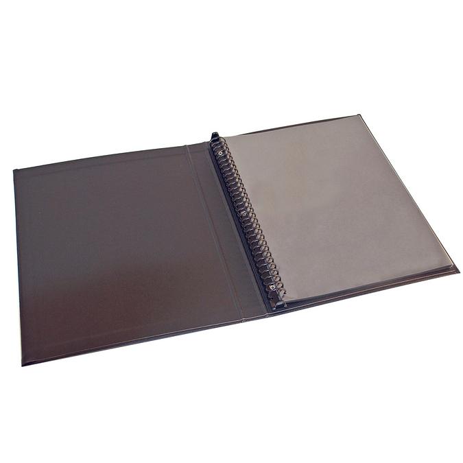 Press-book Modebook (21 x 30 cm) large capacité + 10 pochettes Cristal Laser