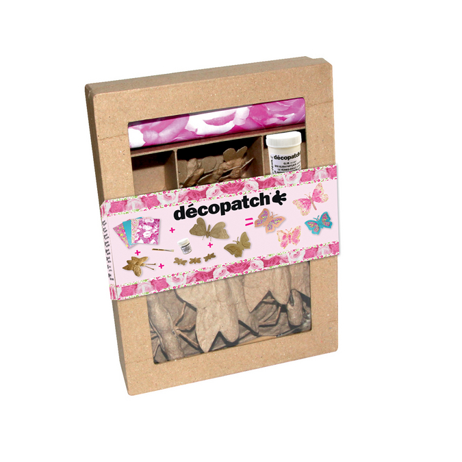 Kit Décopatch papillon
