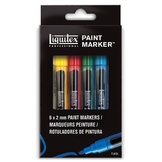 Set de 6 Paint Markers pointe fine