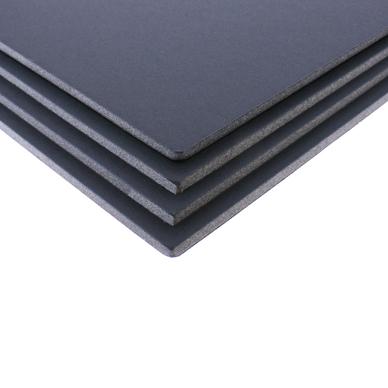 Lot de 4 cartons mousse noir mat format a3 5 mm airplac chez rougier pl - Carton a dessin a3 ...