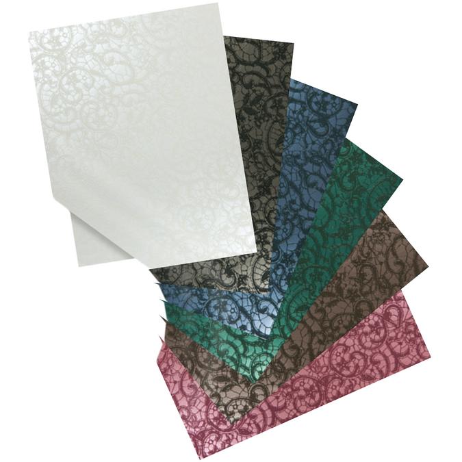 Papier PVC CALABRIA 50 x 70 cm 225g Noir