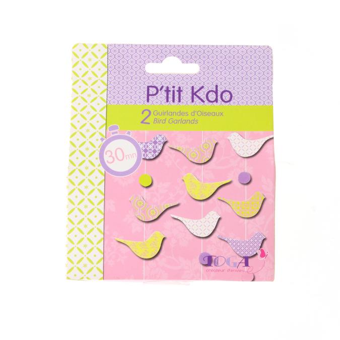 Kit P'tit Kdo guirlandes d'oiseaux