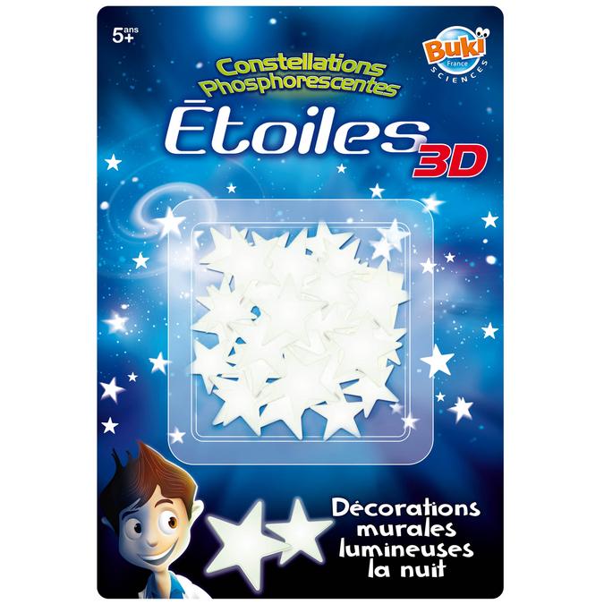 Coffret 50 étoiles 3D