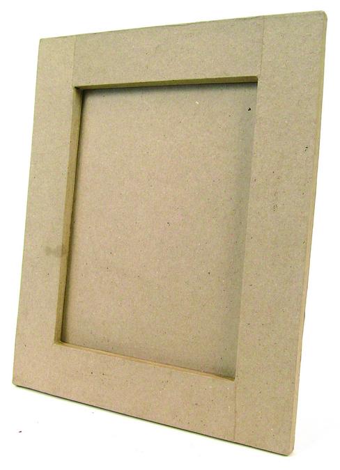 Cadre en papier mâché rectangle plat 13 x 18cm