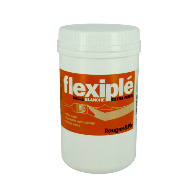 Colle blanche PVA Flexiplé 1kg