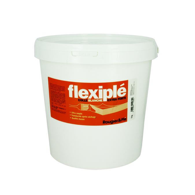 Colle blanche PVA Flexiplé 5kg