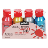 Assortiment PRIMACOLOR 4x 150 ml couleur nacré