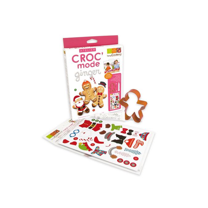 Atelier CRO'C mode pour biscuit