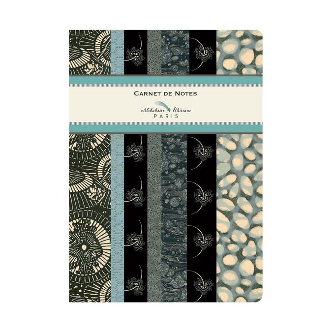 Carnet A5 couverture soft-touch 100 pages lignées et numérotées Hokkaïdo