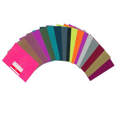 Tissu glitter thermocollant paillet a4 toga chez rougier - Les couleurs des tissus ...