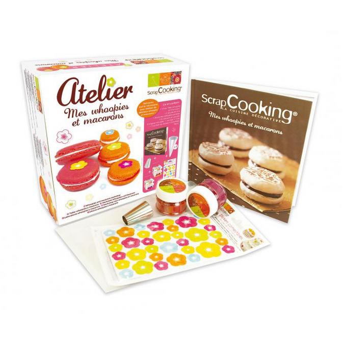 Coffret whoopies & macarons