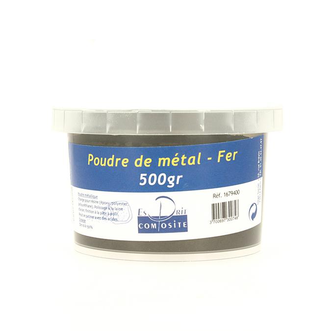 Poudre de métal Charges de fer 500 g