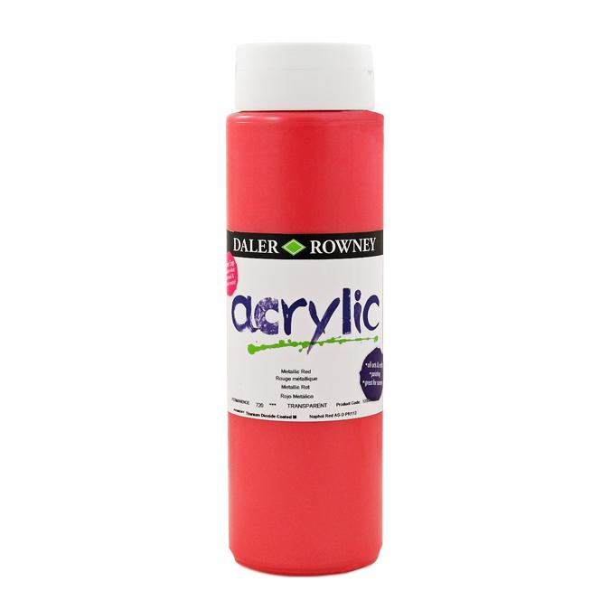 Acrylique Graduate 500 ml 355 - Vert Feuille