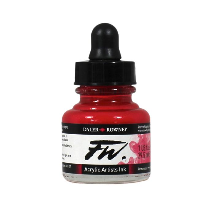 Encre acrylique 29,5 ml 517 - Rouge Feu
