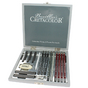 Coffret crayon graphite CRETACOLOR SILVER BOX