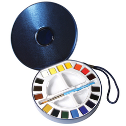 Set de 18 couleurs aquarelle aquafine