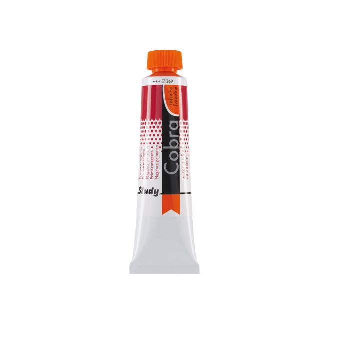 Peinture à l'huile diluable à l'eau Cobra 40 ml 708 Gris de Payne *** SO