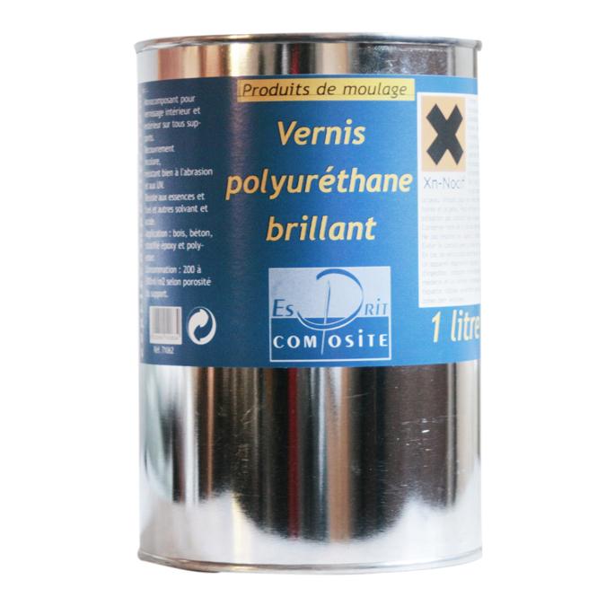 Vernis polyuréthane brillant 500 ml