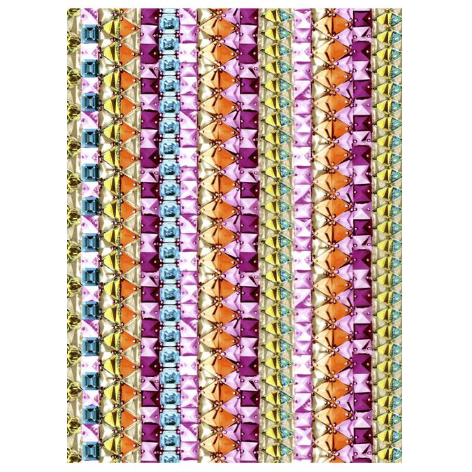 Papier Décopatch n°630 tissage de couleurs