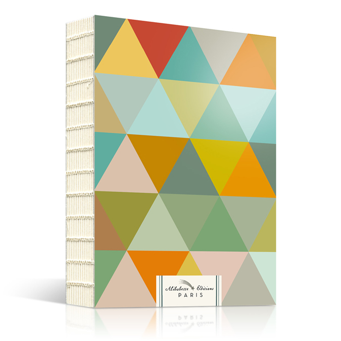 Artbook triangles d'or carnet de croquis A5 240 pages