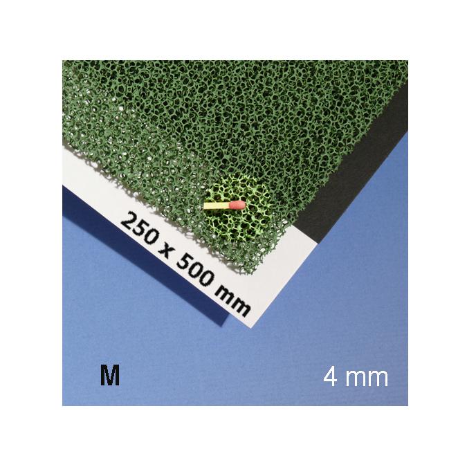 Mousse pour végétation verte alvéole 4 mm