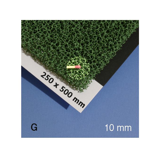 Mousse pour végétation verte alvéole 10 mm