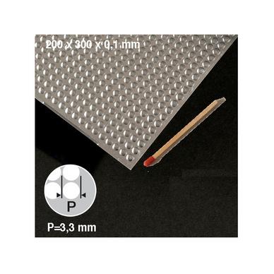 plaque de t le ronds motif 3 3 mm schulcz chez rougier pl. Black Bedroom Furniture Sets. Home Design Ideas