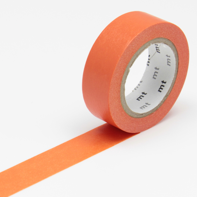 Masking tape uni orange