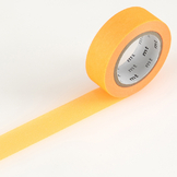 Masking tape uni orange fluo