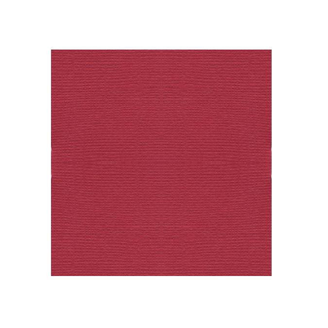 Papier texture toile rouge marasquin 30x30cm