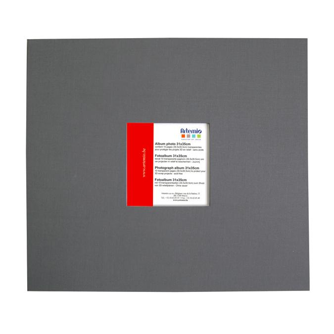 Album gris anthracite 30x30cm