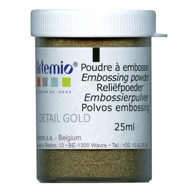 Poudre embosser 25ml or opaque artemio chez rougier pl - Poudre a modeler ...