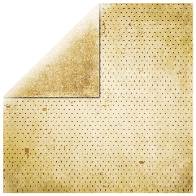 Papier vintage vanille 30x30cm