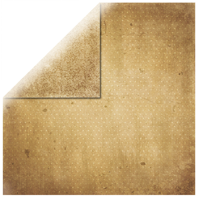 Papier vintage cachemire 30x30cm