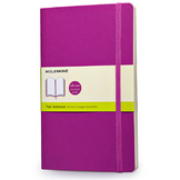 Carnet souple grand format pages blanches
