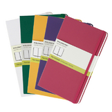 Carnet rigide grand format pages blanches