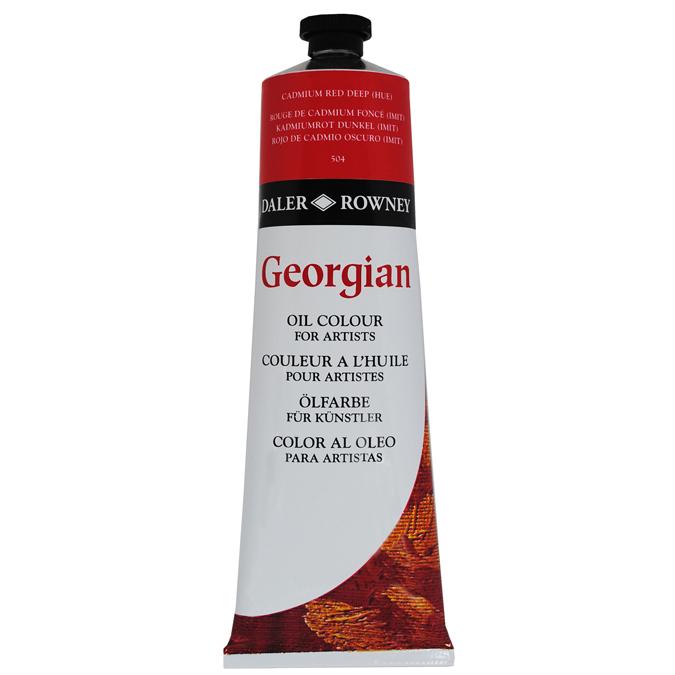 Peinture à l'huile fine Georgian 225ml 007 - Blanc ivoire