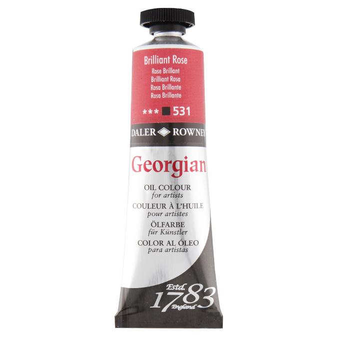 Peinture à l'huile fine Georgian 38ml 561 - Rose de Garance
