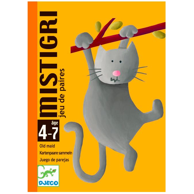 Jeu de cartes association d'images Mistigri