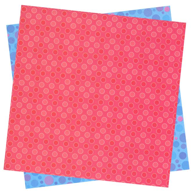 Papier origami Bulles 15x15cm 20 feuilles